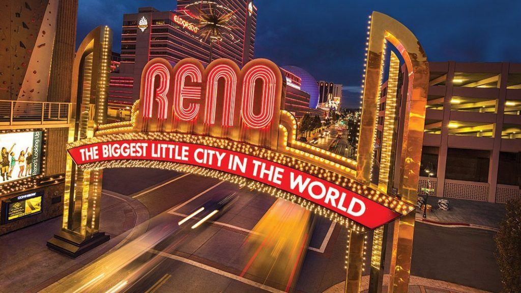 is there sports betting in reno